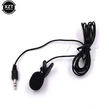 PZ Mini 3,5 мм петличный микрофон с отворотами и зажимом для обучения лекциям 30 Гц~ 15000 Гц горячая распродажа