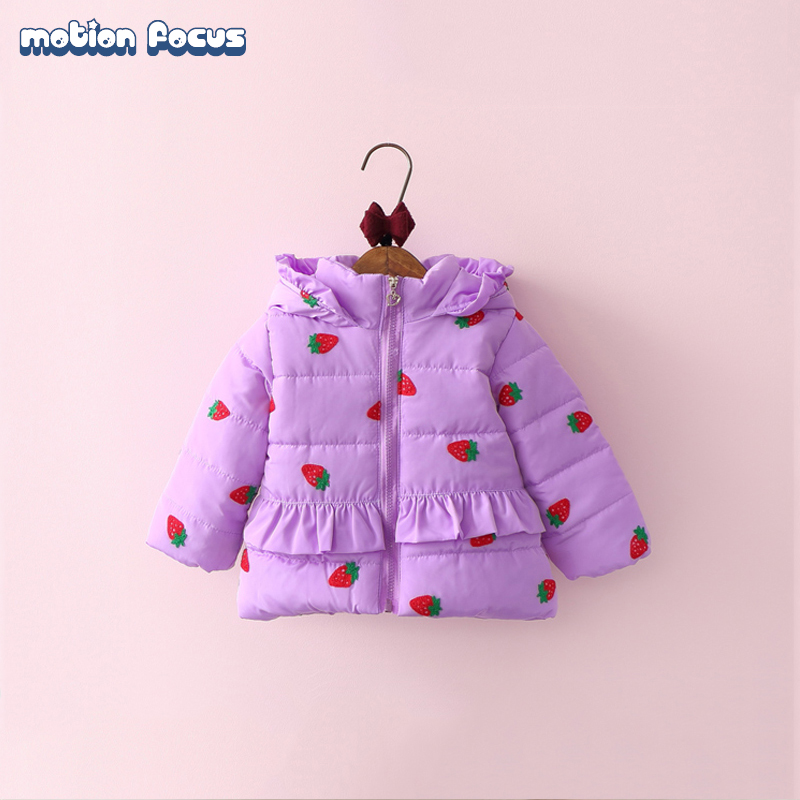 2016 New Winter Children Down Coat Set Kid Girls Cotton Hooded Jacket Russia Baby Thick Warm Parka Coats Outwear for baby girl