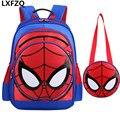 2pcs new school bag children's backpack Cute school bags for girls mochila escolar menino Backpack Waterproof kids bag knapsack
