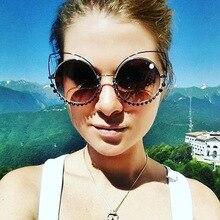 Solo Tu новая тенденция суперзвезда Стиль Cateye женские солнцезащитные очки Брендовая Дизайнерская обувь винтажные роскошные солнцезащитные очки UV400-Proof