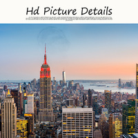Manhattan Empire State Building New York City Landscape Canvas Painting Posters and Prints Wall Pop Art Picture for Living Room
