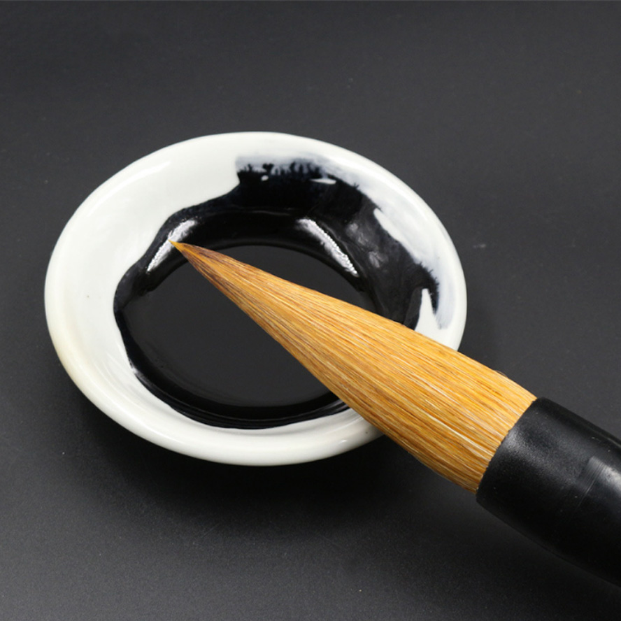 Queen-size weasel hair Chinese calligraphy brush Oil acrylic water color paint brush for art supplies