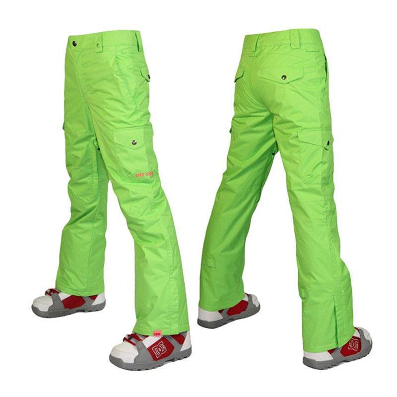 2016 winter ski pants women green snow pants snowboard overalls pants pantalon de ski pour femme