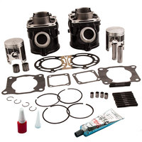 Для YAMAHA BANSHEE YFZ350 стандарт STD Диаметр цилиндра поршень GASKE кольцо комплект 87 06