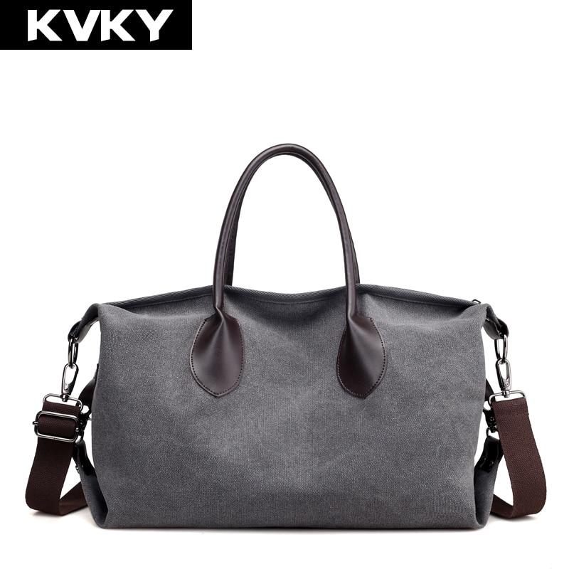 Brands Canvas Handbags Large Capacity Female Shoulder Bags Vintage Hobos Casual Totes Ladies Messenger Crossbody Bags