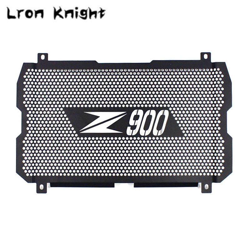 цена на For Kawasaki Z900 Z 900 2017-2018 Motorcycle Accessories Radiator Grille Cover Guard Stainless Steel Protection Moto Protetor