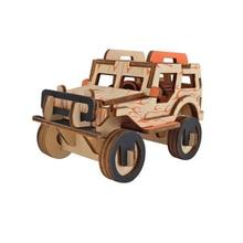 3D Wooden Puzzle Toys Model