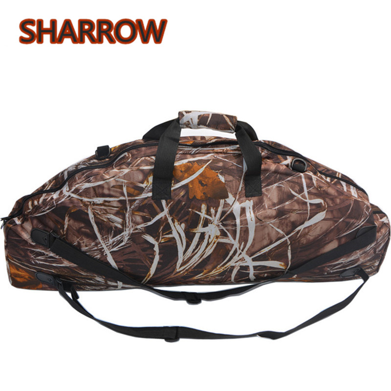 1Pc Archery Bow Backpack Carry Bag Case Pouch Holder Bow Bag For Compound Bow Outdoor Training