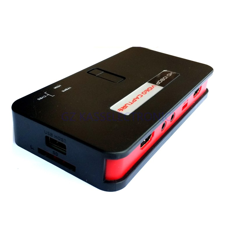 2017 new vhs to pc converter convert HDMI/YPbPr directly into U-Driver SD TF Card no pc required Free shipping