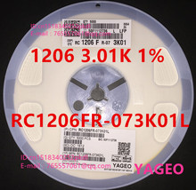 {5000 ШТ./диск} 1206 3.01 К 1% SMD резистор RC1206FR-073K01L (1206 полной серии, не может найти обратитесь в службу поддержки клиентов)