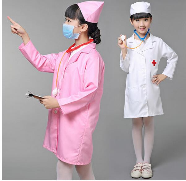 children halloween cosplay costume kids doctor costume nurse uniform c26916 - Kids Doctor Halloween Costume