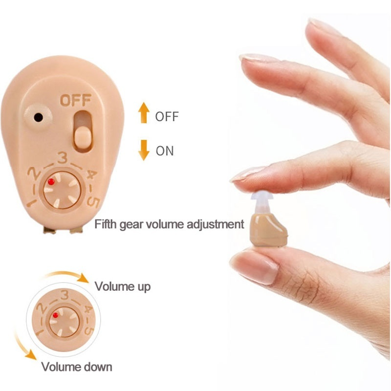 Image 4 - Hot best Rechargeable mini hearing aid ear sound amplifier hearing aids free shipping Tiny voice aid rechargeable hearing aid-in Ear Care from Beauty & Health