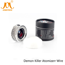 Demon Killer Alien Wire E Cigarette Accessory 26GA 32GA DIY Atomizer Wire 15Feet Fused Clapton Wire with Cotton Wick Jomo-176
