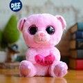 6 ''ty beanie боос плюшевые холдинг сердце медведя куклы мини-милый медведь плюшевые игрушки мягкие игрушки