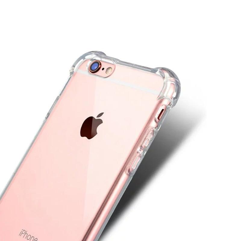 ITEUU 6 6S Plus TPU Soft Super Anti-Knock Case for iPhone 6 6S Plus - მობილური ტელეფონი ნაწილები და აქსესუარები - ფოტო 5