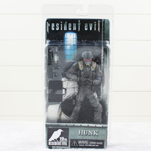 High Quality Fanstay Science Movie Resident Evil Hunk PVC Action Figure 17cm Children Toy Collectible Gift