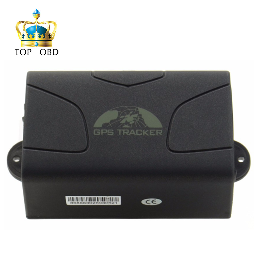 ФОТО Free shipping GPS104 Latest Version Real Time GSM/GPRS/GPS car tracking device TK104 Standby 60 days gps tracker TK 104