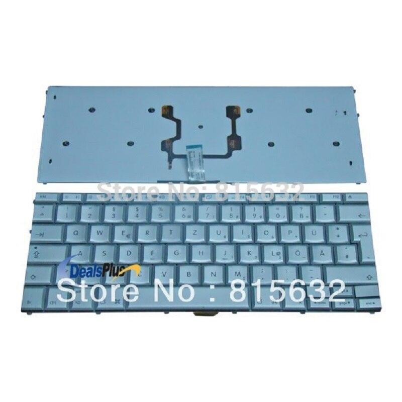 LAPTOP DE Tastatur German KEYBOARD For Apple macbook PRO A1211 A1226 A1260 original new laptop keyboard for apple macbook a1260 keyboard free shipping