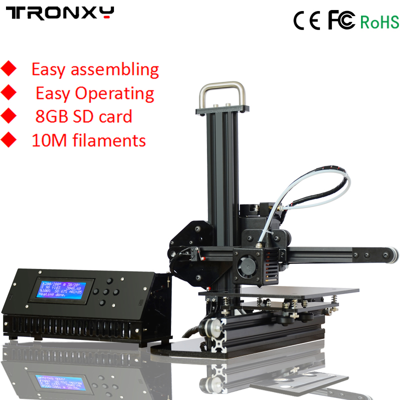 Lowest price Preheat High Precision Reprap Prusa i3 3d printer DIY kits with 1 roll PLA filament and 8GB SD card HD LCD for free anet upgraded a6 high quality desktop 3dprinter prusa i3 precision with roll kit diy assemble filament 16gb sd card lcd screen