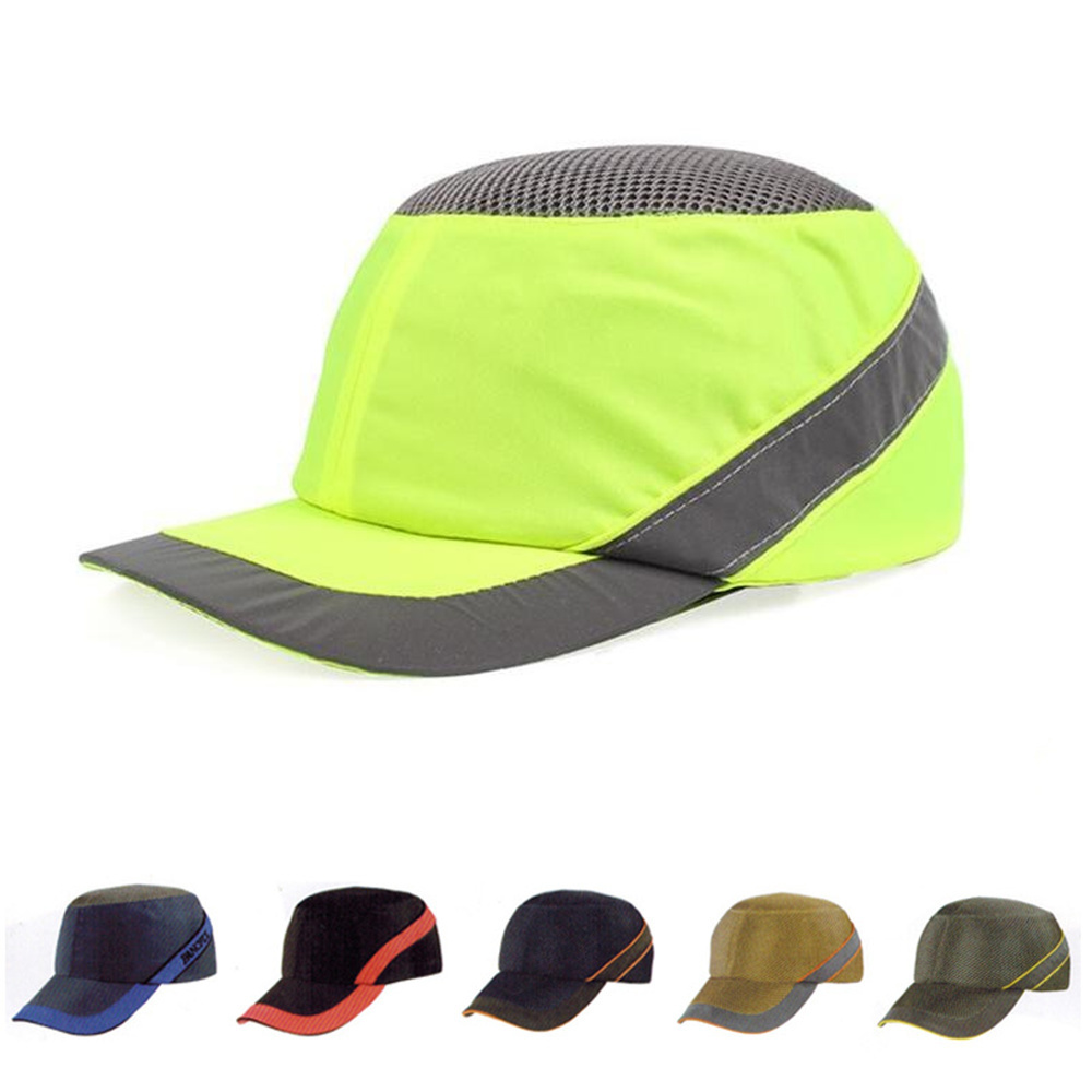 Work Safety Helmet Bump Cap Summer Breathable Security Anti-impact Lightweight Helmets Fashion Casual Sunscreen Protective Hat bump cap work safety helmet with reflective stripe summer breathable security anti impact light weight helmets protective hat
