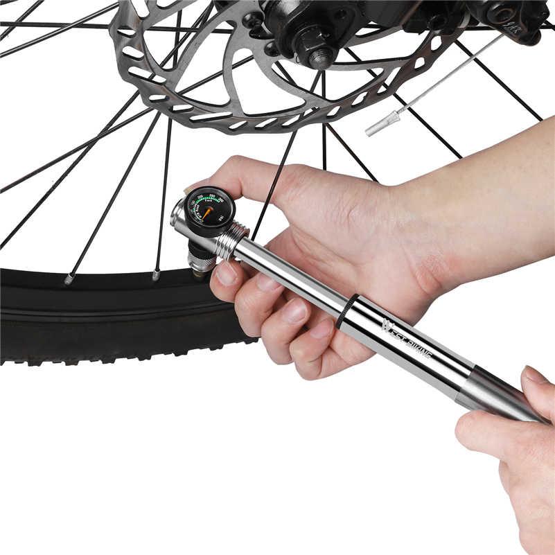 West biking 300psi велосипедный насос высокого давления велосипедный воздушный насос вилка и задняя подвеска велосипедный горный велосипед насос с манометром