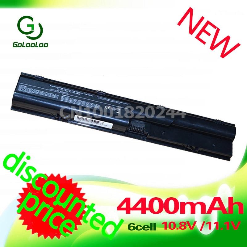 Golooloo 4400MaH battery for HP Probook 4330s 4435s 4446s 4331s 4436s 4530s 4440s 4341s 4535s 4431s 4441s 4540s ao4435 4435 sop8
