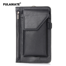 FULAIKATE 6.3/5.5 Waist Bag for iPhone7 Plus Multifunction Sports Case for Samsung MEGA Nokia Lumia 920 HTC Desire Phone Pouch protective plastic back case for nokia lumia 920 white