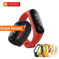 Globale Version Xiao mi mi Band 3 mi band 3 Fitness Tracker OLED Touch Wasserdichte Smart Bluetooth Band Armband Armband mi Band 3