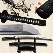 FULL  Tang Japanese Samurai Sword Very Sharp High Carbon Steel Blade  Katana Full Handmade Knife