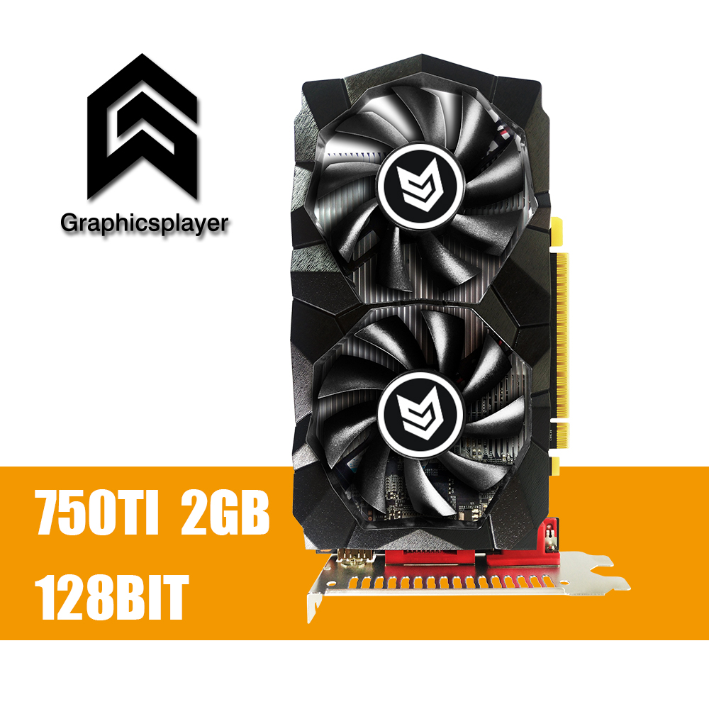 Grafikkarte GTX 750TI 2048 mb/2 gb 128bit GDDR5 Placa de Video carte graphique Video Karte für NVIDIA geforce PC VGA