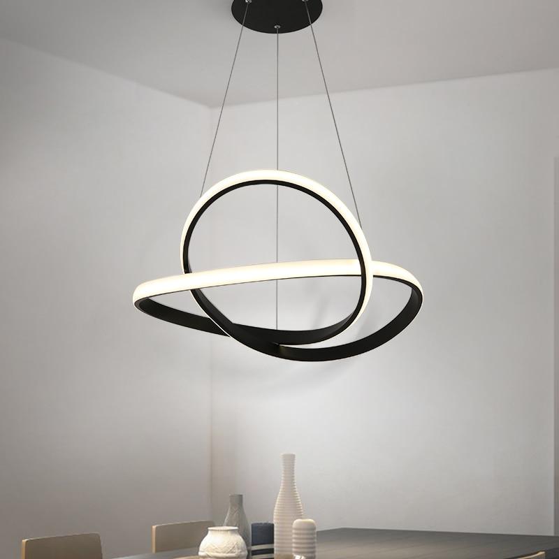 Modern LED Pendant Lights For Living Room Hanging LED Lighting Fixture Pendant Lamp Home Lamps suspension luminaire lustres in Pendant Lights from Lights Lighting