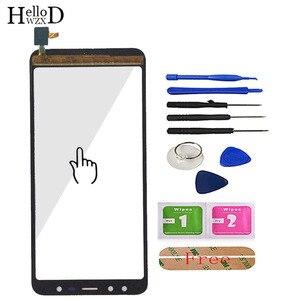 Image 3 - 5.5 טלפון נייד מגע זכוכית מסך מגע עבור Leagoo M9 מגע מסך זכוכית Digitizer פנל עדשת חיישן כלים משלוח דבק