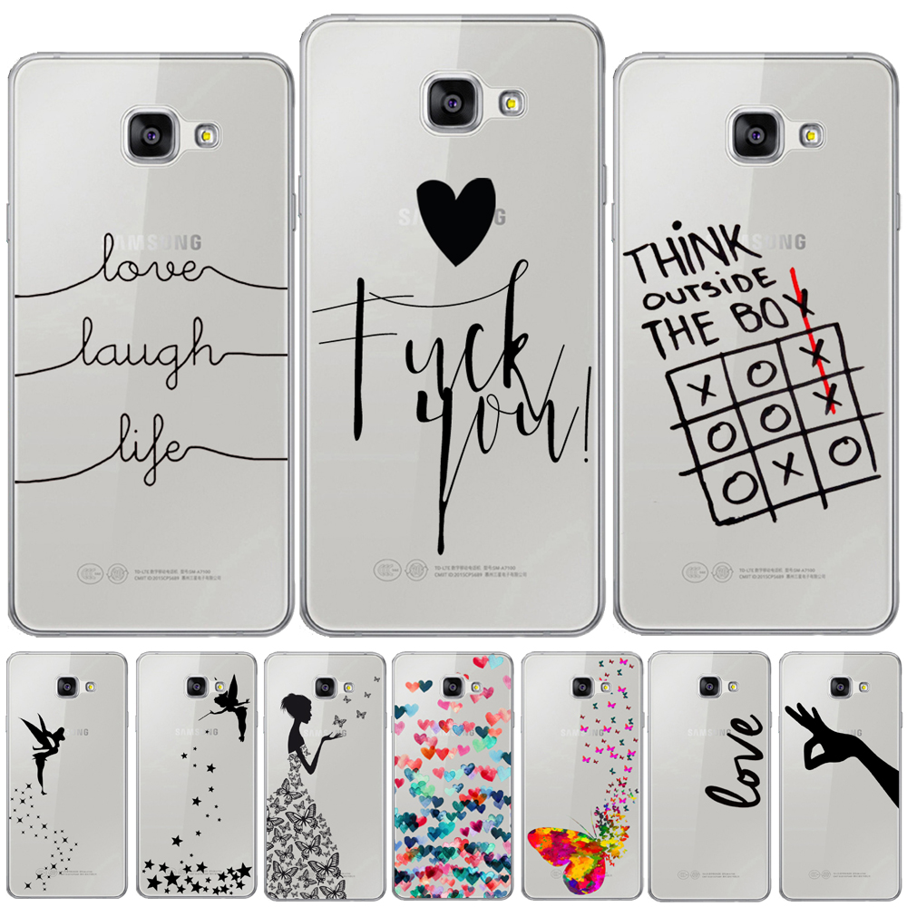 Love Laugh Life Soft Cover For <font><b>Samsung</b></font> <font><b>Galaxy</b></font> A3 A5 A7 2016 2017 A6 A8 Plus A9 A7 2018 A10 A20 A30 <font><b>A40</b></font> A50 A70 Tinkerbell <font><b>Case</b></font> image