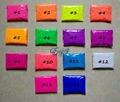 14 Colores de la Fluorescencia Brillante Pigmento De Polvo De Fósforo, 500 g/lote Cosméticos En Polvo Fluorescente para la Pintura de Uñas Esmalte de Jabón