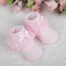 1 пара Детские Летние Носки ярких цветов Цвета ретро с кружевными рюшами Короткие носки до щиколотки принцессы носки для девочек