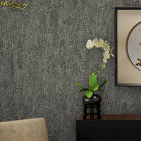 Beibehang Retro Industrial Wind Cement Gray Wallpaper Mottled Plain Solid Color Clothing Store Office Embossed Wallpaper