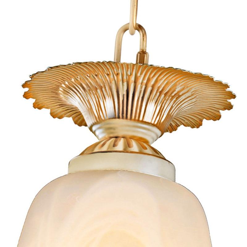 Sadə Avropa üslublu lampalar lampalar parlaq kolqantlar parıldayan - Daxili işıqlandırma - Fotoqrafiya 3