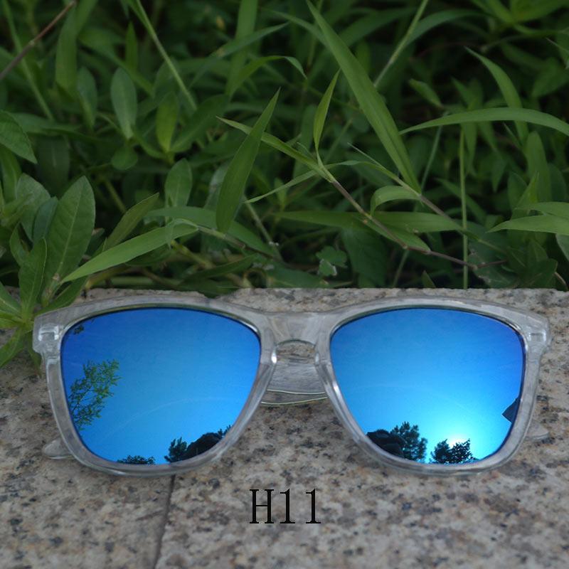 تصميم شعار العلامة التجارية الرجال النظارات الشمسية شفافة التعامل معها قيادة المرأة العدسات اللون التعبئة والتغليف الأصلي الأزرق ليوبارد