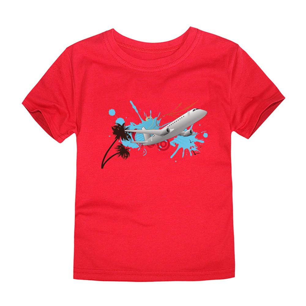 HTB1wXCmQVXXXXXfXpXXq6xXFXXXl - CHUNJIAN 2017 children t shirts for girls boys cotton t shirt girls T-Shirt kids t shirts summer Tops & Tees kids plane shirt