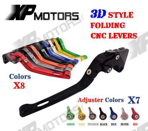 Adjustable CNC 3D Feel Folding Brake Clutch Lever For Honda CBR250R CBR300R CBR500R CB300F CB300FA CB500F CB500X CB500 F/X Grom billet new alu long folding adjustable brake clutch levers for honda cbr250r cbr 250 r 11 13 cbr300r 14 cbr500r cb500f x 13 14