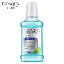 BIOAQUA Mint Flavor Mouthwash Clean Tartar Care For Gums Fresh Breath Mint Fresh Oral Care Cleaner Convenience Carry 250ml