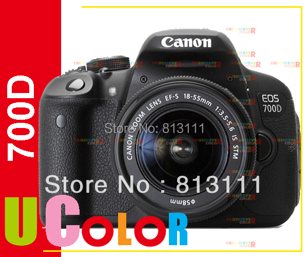 New Canon EOS 700D Rebel T5i Camera Body & EF-S 18-55mm STM Lens Kit canon eos 700d 18 0 mp digital slr camera body only rebel t5i kiss x7i