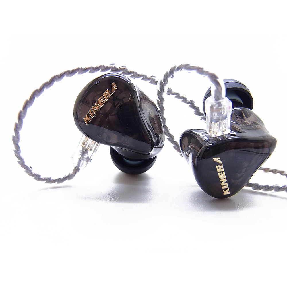 OKCSC H3 In Ear Earphone Dynamic Hybrid 3 Unit Driver HIFI Headset 2BA +1DD Earbud Monitor With 2PIN 0.78mm Replacement Cable цена