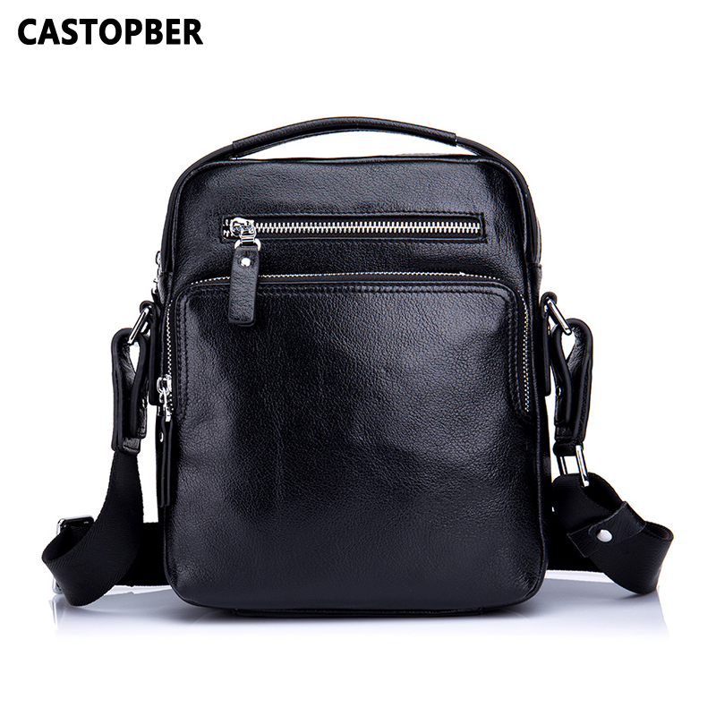 Men Messenger Bag Vintage Fashion Business Casual Shoulder Crossbody Bags Handbag Cowhide Genuine Leather Commercial Briefcase vintage crossbody bag military canvas shoulder bags men messenger bag men casual handbag tote business briefcase for computer