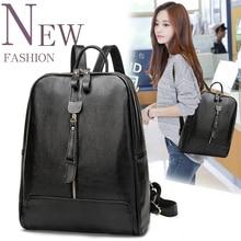 100% натуральная кожа женщины рюкзак женские рюкзаки дизайнер школьников сумки мода Натуральная кожа путешествия рюкзак