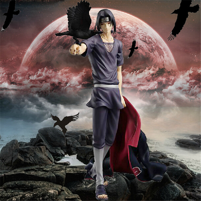 Naruto Anime Figure Uchiha Itachi Action Figure 270mm Figura Pvc Naruto Itachi Collection Model Toys Naruto naruto shippuden uchiha itachi pvc action figure collectible model toy doll 27cm kt1322