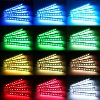 Стайлинга автомобилей Светодиодные ленты атмосфера света аксессуары для clio 4 vw golf 7 mini cooper r56 Гольф mk7 kia ceed toyota prius