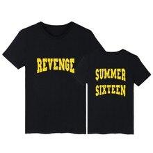 Revenge Tshirt New Mens Funny Fashion Tshirt Print With Revenge Summer Sixteen Hip Hop Tees Soft Cotton 4XL XXS