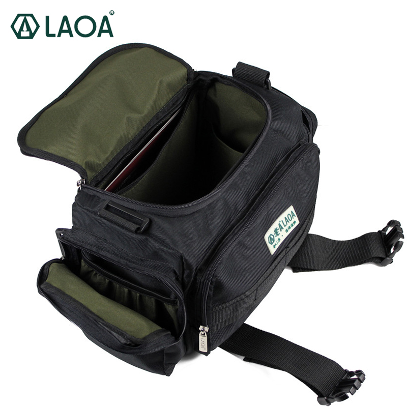 Здесь продается  LAOA 15 Inch Double Layers Thicken Electrician Bag Top Wide Mouth Tool Bag Oxford Waterproof Wear-resisting Bag  Инструменты