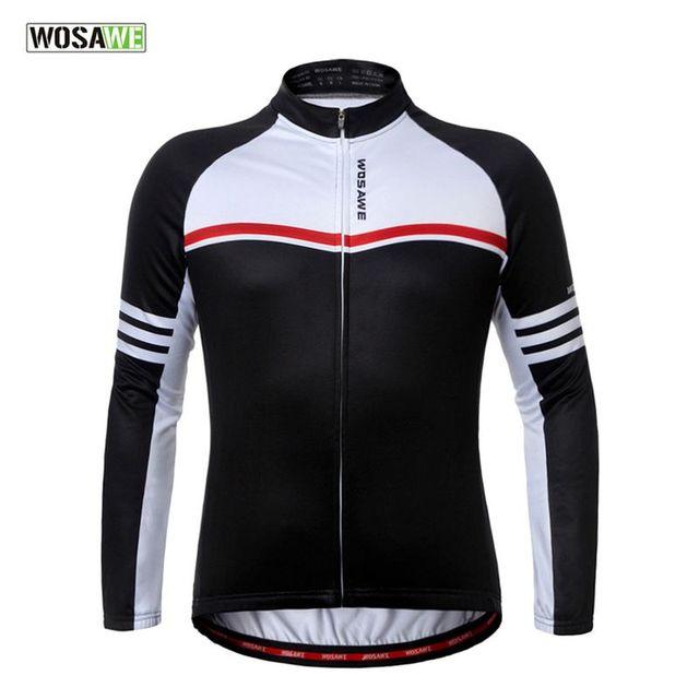 Winter Thermal Fleece Cycling Jackets Windproof Warm MTB Road Bike Jerseys  Sportswear Autumn Running Sports Bicycle Outerwear e8803d05e